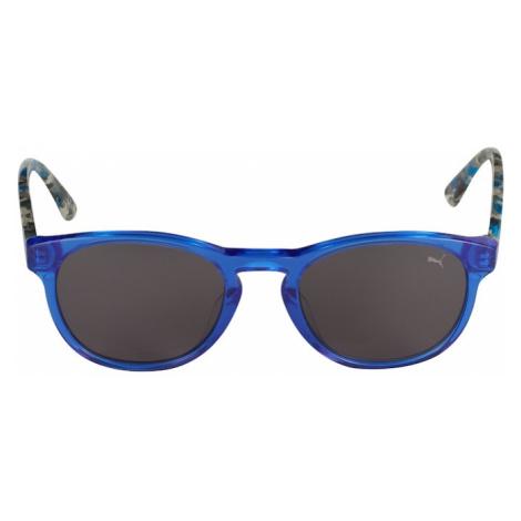 PUMA Okulary przeciwsłoneczne 'PJ0023S' szary dym / niebieski
