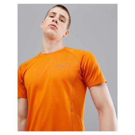 Jack Wolfskin Hydropore XT Vent Tech T-Shirt In Orange