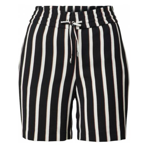 ONLY Spodnie czarny / biały