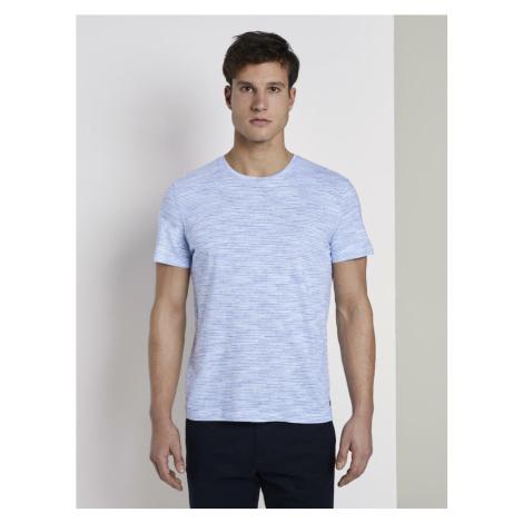 TOM TAILOR Koszulka biały / niebieski