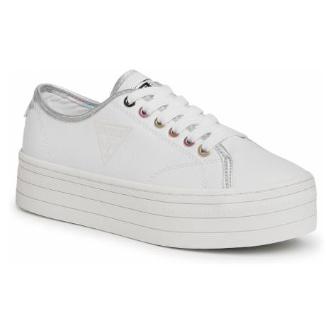 Sneakersy GUESS - Buddi2 FL7BU2 ELE12 WHITE