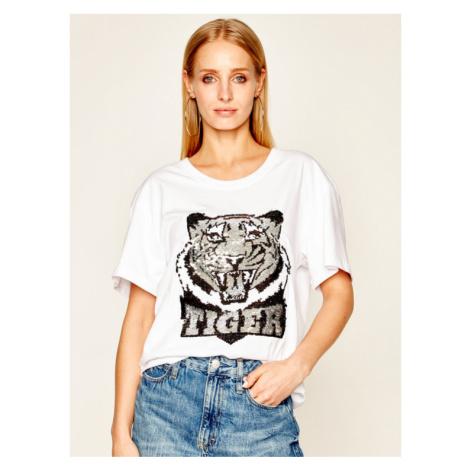 Silvian Heach T-Shirt Bassimi PGP20587TS Biały Regular Fit
