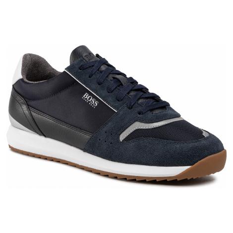 Sneakersy BOSS - Sonic 50428381 10214574 01 Dark Blue 401 Hugo Boss