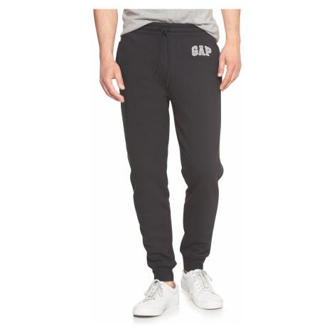 GAP czarne męskie spodnie dresowe z logiem