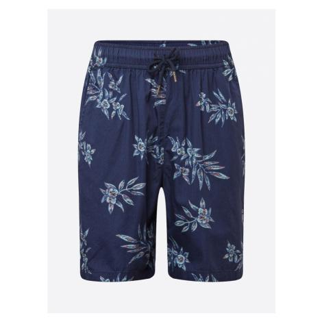 Urban Classics Spodnie podpalany niebieski