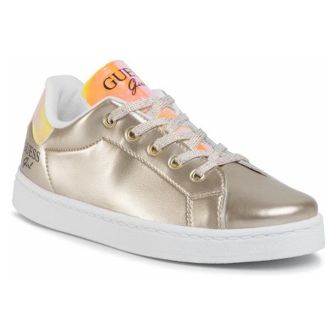 Sneakersy GUESS - Lucy FJ7LUC ELE12 GOLD