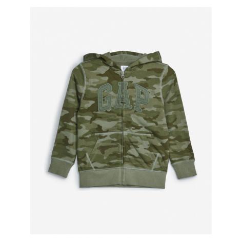 GAP Bluza dziecięca Zielony