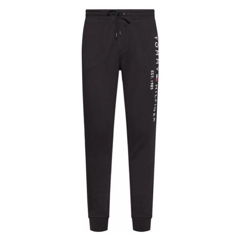 TOMMY HILFIGER Spodnie dresowe Basic Branded MW0MW08388 Czarny Regular Fit