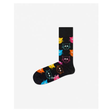 Happy Socks Cat Skarpetki Czarny
