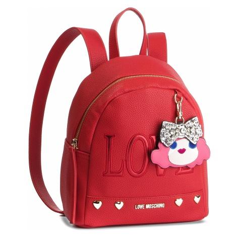 Plecak LOVE MOSCHINO - JC4254PP07KH0500 Rosso