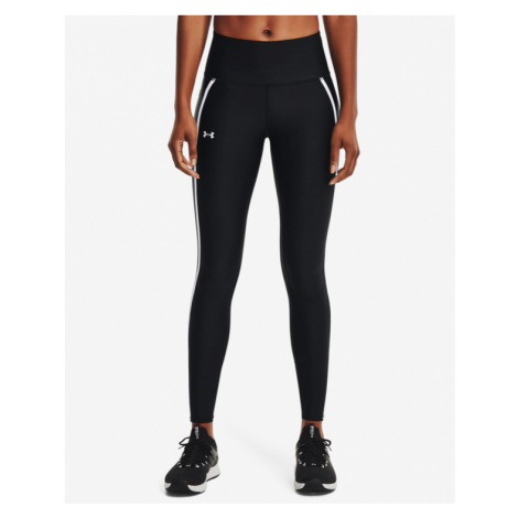 Under Armour HeatGear® Shine Mesh Legginsy Czarny