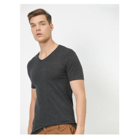 Koton Men's Anthracite T-Shirt