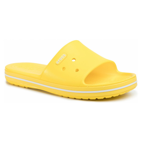 Klapki CROCS - Crocband III Slide 205733 Lemon/White