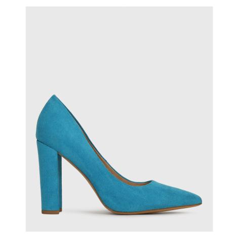 Niebieskie szpilki damskie
