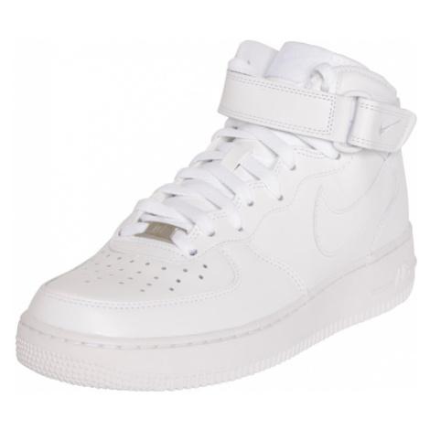 Nike Sportswear Trampki wysokie 'Air Force Mid' biały