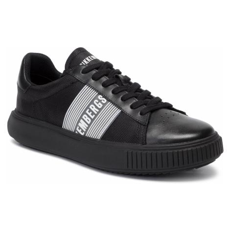 Sneakersy BIKKEMBERGS - Low Top Lace Up B4BKM0027 Black