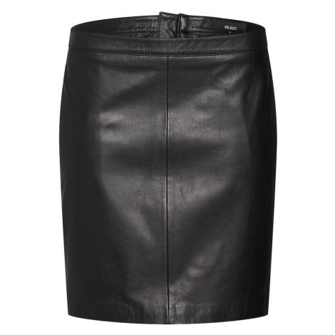OBJECT Spódnica czarny