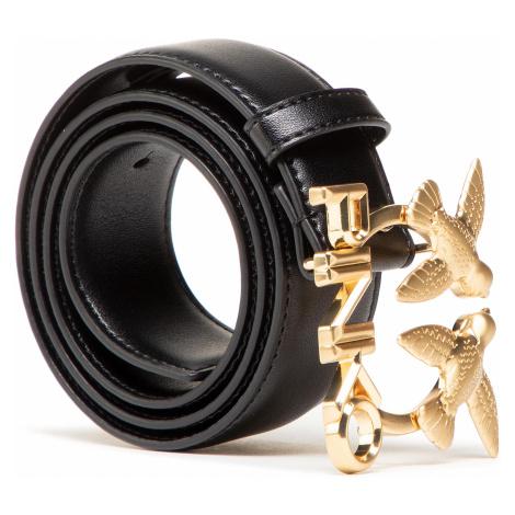 Pasek Damski PINKO - Aster Simply Waist Belt PE 21 PLT01 1H20VW Y6XF Black Z99