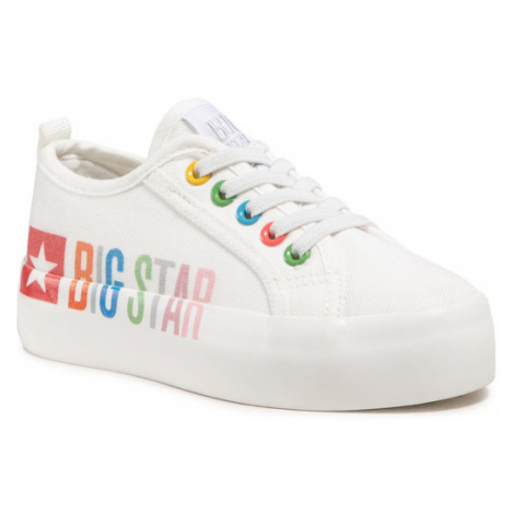 BIG STAR Tenisówki HH374154 Biały