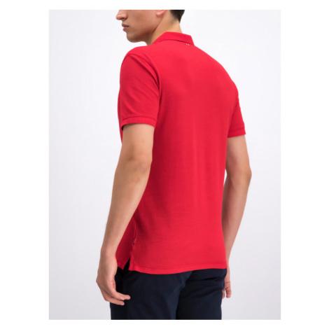 Napapijri Polo Erzin N0YIFY Czerwony Regular Fit