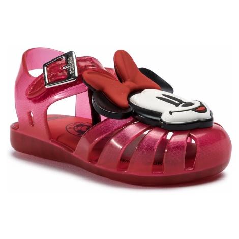 Sandały MELISSA - Mini Melissa Aranha + Mickey A 32499 Red/White 53424