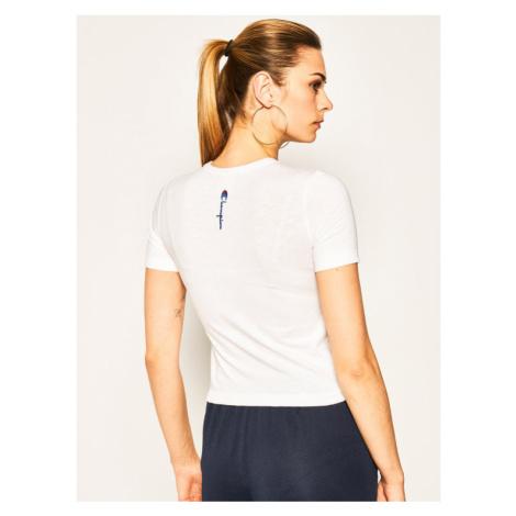 Champion T-Shirt Pump 0.6Hp 113019 Biały Regular Fit