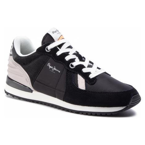 Sneakersy PEPE JEANS - Tinker Wer PMS30621 Black 999