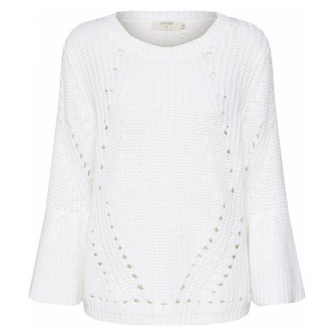 Cream Sweter 'Vasia Pullover - 3/4 sleeve' offwhite