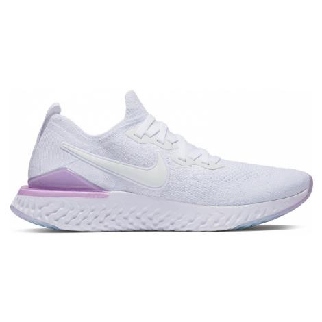 Buty Nike Epic React Flyknit 2 W Różowo-Białe