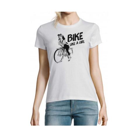 Koszulka damska - Bike Like a Girl