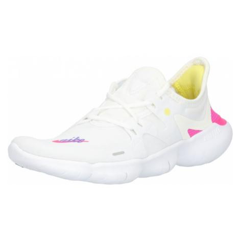 NIKE Buty do biegania 'NIKE FREE RN 5.0 JDI' fioletowy / różowy / biały