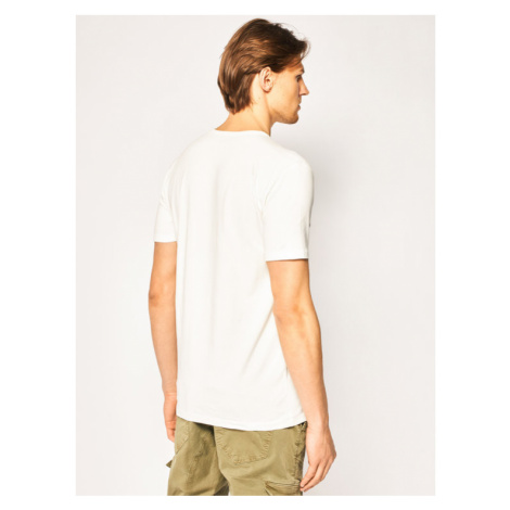 Marc O'Polo T-Shirt 022 2240 51314 Beżowy Shaped Fit