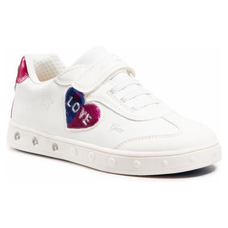 Sneakersy GEOX - J Skylin G. I J158WI 000BC C1000 D White