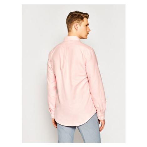 Polo Ralph Lauren Koszula Bsr 710792041 Różowy Custom Fit