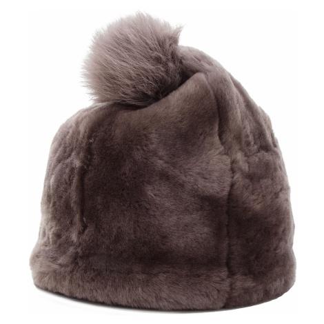 Czapka UGG - W Solid Sheepskin Beanie 17383 Stormy Grey