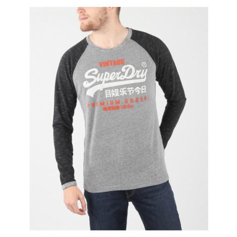 SuperDry Koszulka Szary