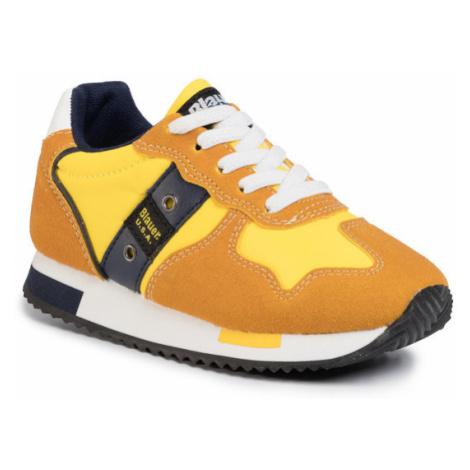 Blauer Sneakersy S0DASH02/NYL M Żółty