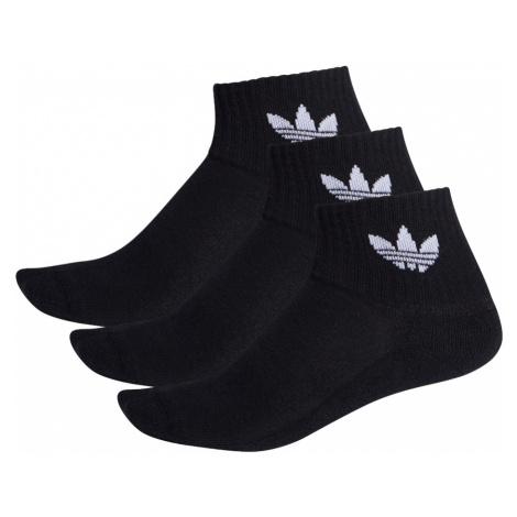 Adidas Mid-Cut Crew Socks 3pak Czarne (FM0643)