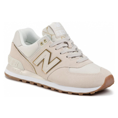 New Balance Sneakersy WL574SOA Beżowy