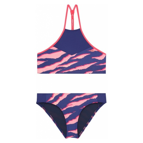 O'NEILL Bikini 'PG HIGH NECK BIKINI' niebieski / fioletowy