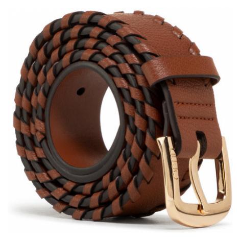Liu Jo Pasek Damski Cintura 3.5 Cm AA1012 E0031 Brązowy