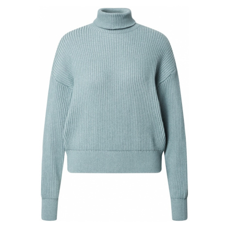 Another Label Sweter jasnoniebieski