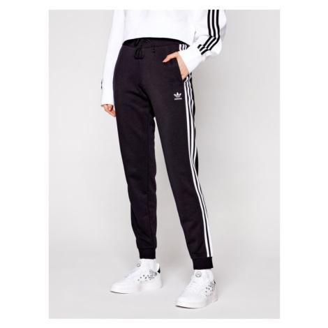Adidas Spodnie dresowe Cuffed GD2255 Czarny Slim Fit