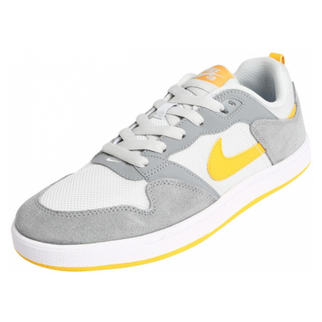 Nike SB Trampki niskie 'Nike SB Alleyoop' żółty / szary / biały