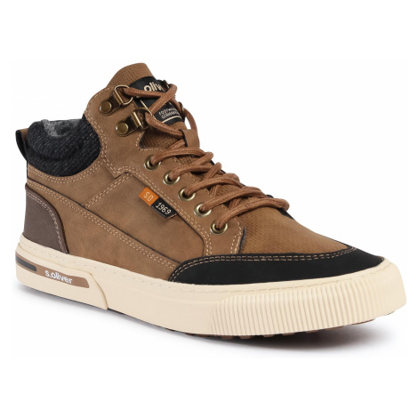Sneakersy S.OLIVER - 5-15224-35 Brown 300