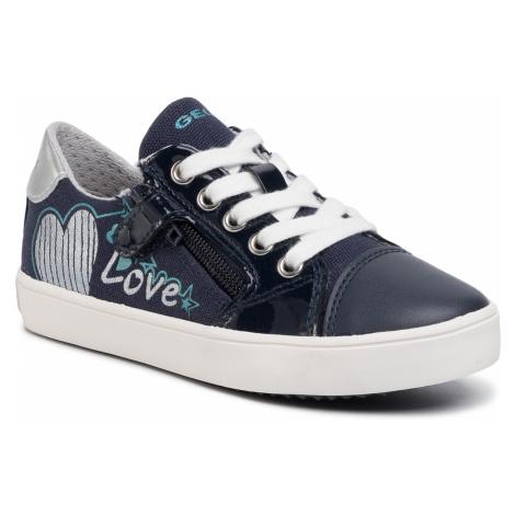 Sneakersy GEOX - J Gisli G. B J024NB 01002 CF4N4 S Navy/Turquoise