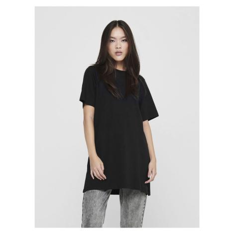 Czarna koszulka oversize Jacqueline de Yong Kris