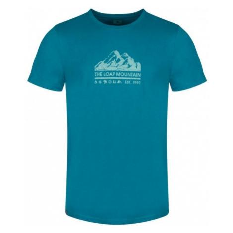 Loap BEIK niebieski XL - Koszulka męska