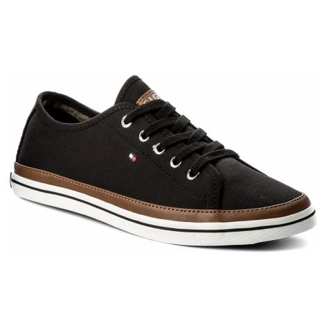 Tenisówki TOMMY HILFIGER - Iconic Kesha Sneaker FW0FW02823 Black 990