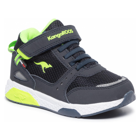 Sneakersy KANGAROOS - Kadee Taro Rtx 18391 000 4054 Dk Navy/Lime